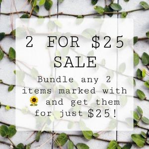 UPDATED Bundle and Save offer!